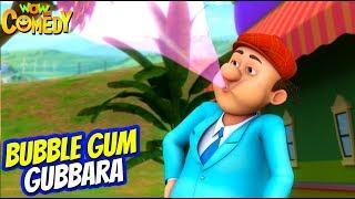 Chacha Bhatija Cartoon in Hindi   Bubble Gum Gubbara   Ep 84   New Cartoons   Wow Kidz Comedy