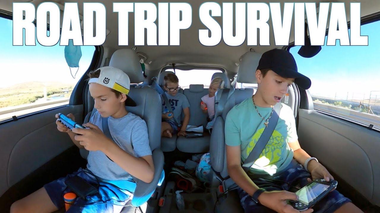 HOW TO SURVIVE DRIVING NINE HOURS WITH FIVE KIDS ON A FAMILY ROAD TRIP TO LAKE TAHOE