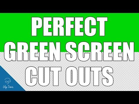 PHOTOSHOP TUTORIAL: Perfect Green Screen Cut Outs #39