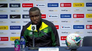 Theodore Whitmore - Press Conference - Jamaica (1) - (3) United States - Gold Cup 2019