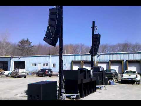 ISP HDL 3112 Line Array Speaker Demo
