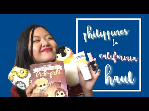 Philippines to California Haul | Marielly