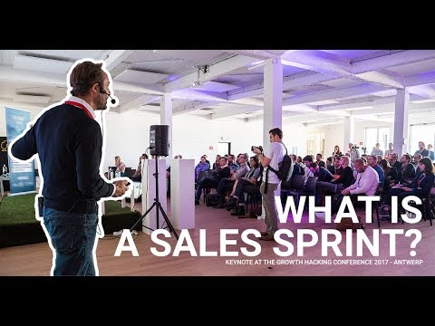 What is a Sales Sprint - Keynote at the Growth Hacking conference