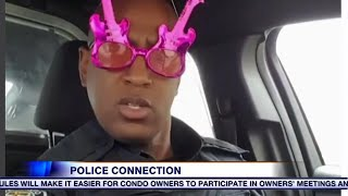 Dancing cop starts mental health program for youth