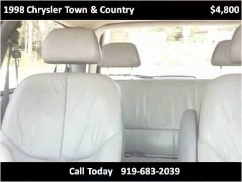 1998 Chrysler Town & Country Used Cars Durham NC