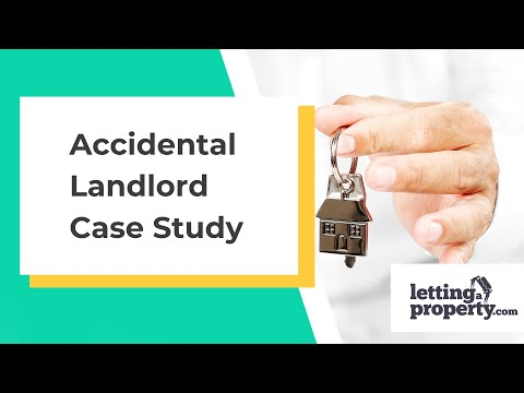 Accidental Landlord uses Online Letting Agent to Find a Tenant