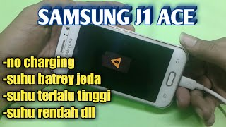 Samsung Galaxy J1 J100H Charging Paused Battery Temperature Too High