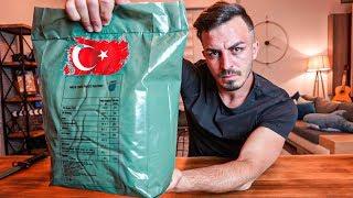 TÜRK ASKERİ YEMEKLERİNİ DENEDİM!! | TURKISH MRE