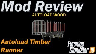 FS19 - Fliegl Timber Runner With Autoload Wood v1 0 - PakVim net HD