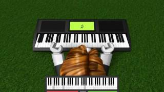 Roblox Virtual Piano Lazy Town We Are Number One Romantic