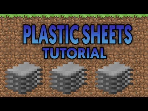 HOW TO GET PLASTIC FROM SCRATCH ON MINECRAFT