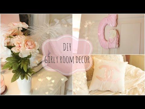 DIY girly room decor ♡