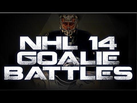 NHL 14: Goalie Battles VS Zab97Productions