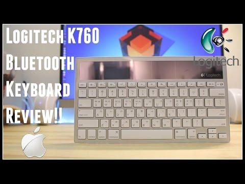 BEST Apple Keyboard: Bluetooth + SOLAR POWERED!!