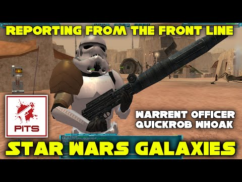Star Wars Galaxies RP | Reporting from the Front Line - Warrent Officer Quikrob Whoak