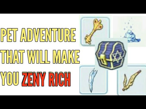 THE BEST PET ADVENTURE TO EARN ZENY