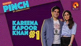 Kareena Kapoor Khan Part 1 | Quick Heal Pinch by Arbaaz Khan | QuPlayTV