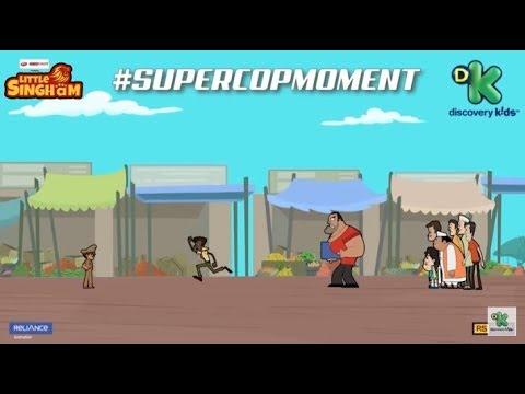 SuperCopMoment #1   Little Singham   Discovery Kids   Kids Cartoon