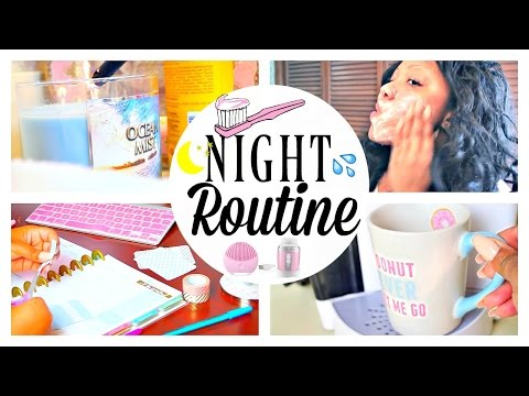 My Night Time Routine 2017 Winter Edition + A Day In The Life | CIARAHONEYDIP