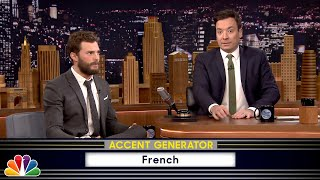 Fifty Accents of Grey with Jamie Dornan