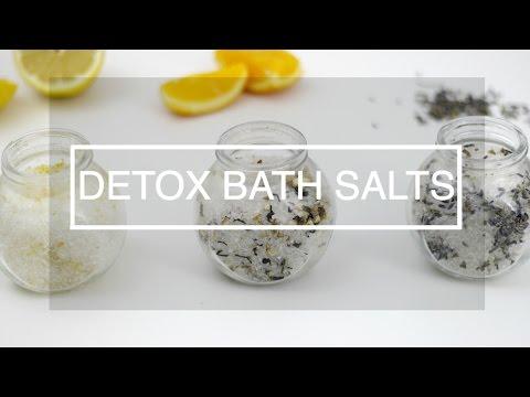 DIY Detox Bath Salts   Aromatherapy
