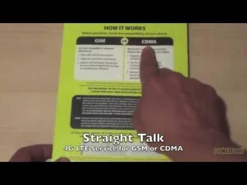 Unboxing Straight Talk Wireless Starter Activation Kit Pack