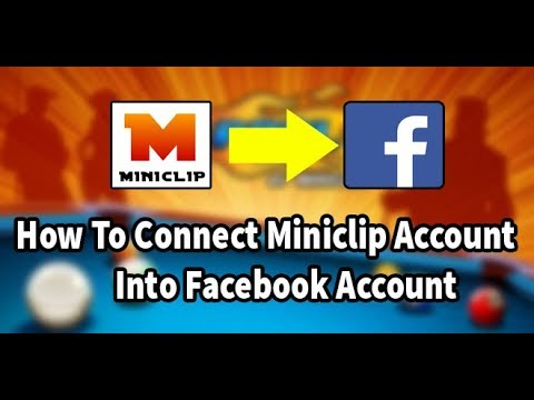 How To Connect 👉Miniclip Account Into Facebook👈 Account 8 Ball Pool
