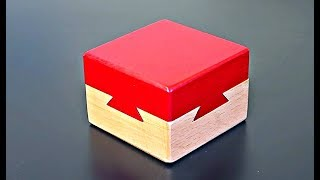 Impossible Puzzle Box - Dovetail Cube