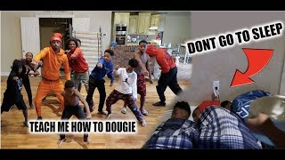 WE CAUGHT JAY MARK & BAM LACKING & HAD A DANCE OFF!