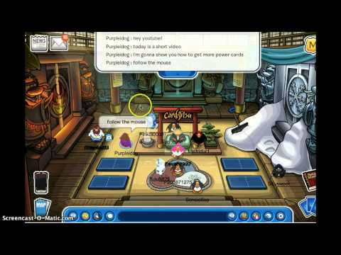 How to get powercards Clubpenguin