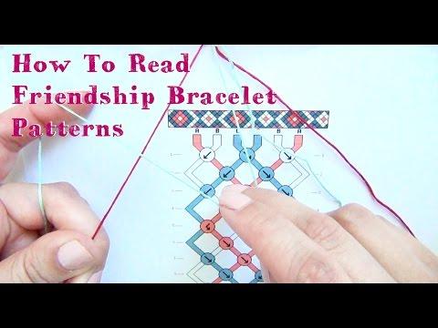 How To Read Friendship Bracelet Patterns ♥ Tutorial