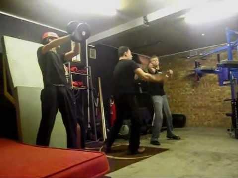 Extremely Advanced Jeet Kune Do - Krav Maga Gun Defence Tactics