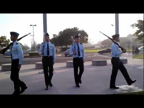AFROTC DET 040 LLAB14 Honor Guard
