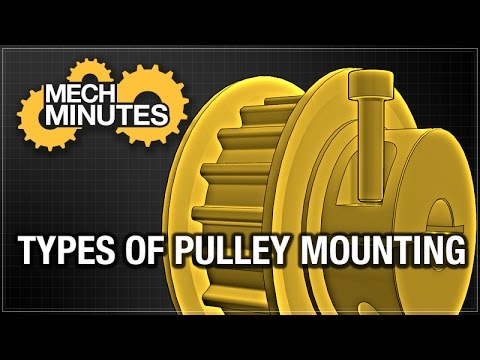 TIMING BELTS & PULLEYS PT. 5: TYPES OF PULLEY MOUNTING | MECH MINUTES | MISUMI USA