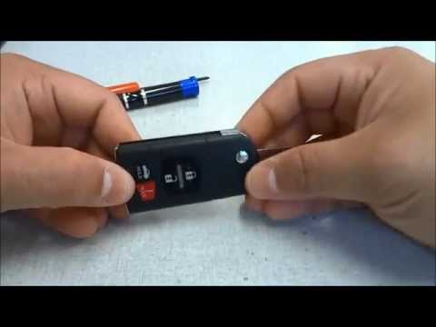 How To Change A Mazda 6 Key Fob Battery (2006-2012)