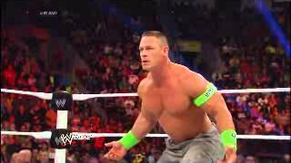 Undertaker helps John Cena from Wyatt Family _ 24 Feb. 2014
