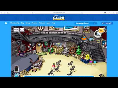 Club Penguin How To Find Rockhopper on Any Server
