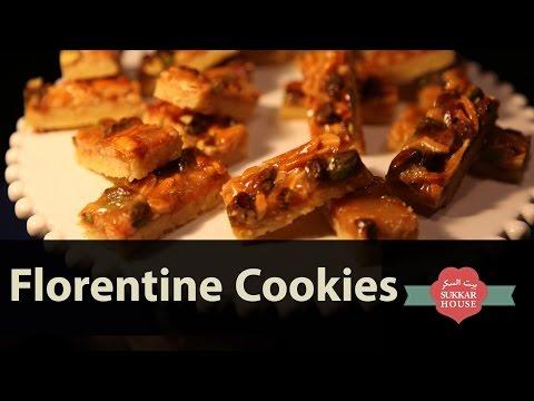 Sukkar House - Florentine Cookies