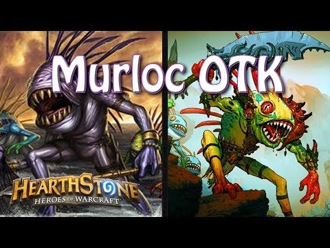 Hearthstone - OTK murlocs... Warleader and old Murk eye