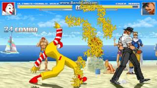 MUGEN: Ronald McDonald in Super Smash Bros + Extra character