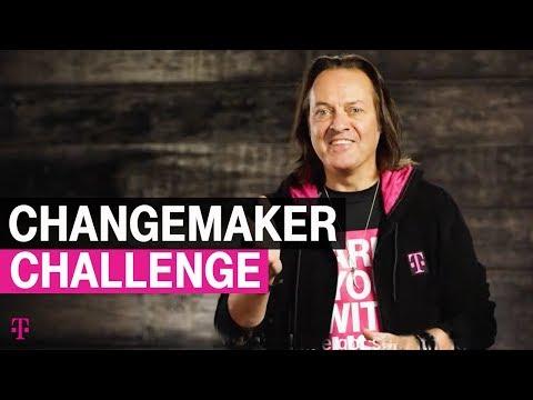 John Legere's Changemaker Challenge | T-Mobile 2018