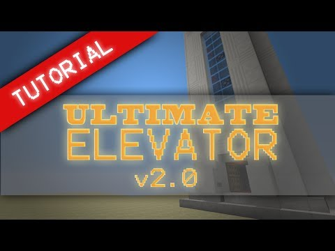 TUTORIAL: Ultimate 2x2 Clean Piston Car Elevator v2.0: Up & Down No visible wiring