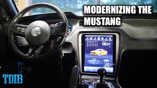 Installing a TESLA SCREEN In My Mustang GT! Modernizing the Mustang