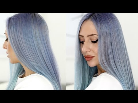 HOW TO DYE YOUR HAIR BLUE - L'ORÉAL COLORISTA BLUE REVIEW | BLUE OMBRE | Carly Musleh
