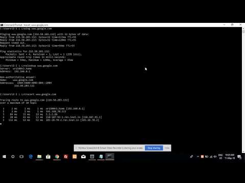Cmd important commands find any website Ip address