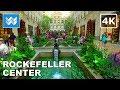 Walking around Rockefeller Center & 5th Ave in Midtown Manhattan, New York City 【4K】