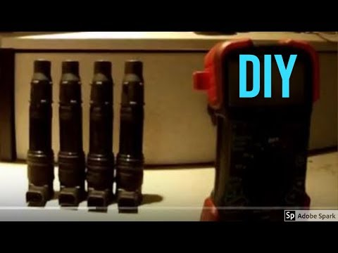 How To Test Ignition Coils, Coil Pack With Basic Hand Tools, Diy.