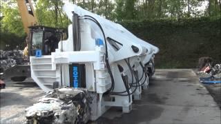 Car Baler Bronneberg - Presses à automobiles - Autopresse RR5 - Bilpressar - Paczkarka do karoserii