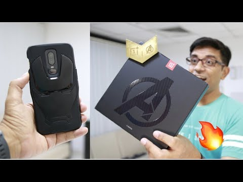 OnePlus 6 Avengers Edition Unboxing With Special Surprise 🔥🔥🔥