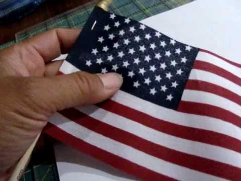 Making the American Flag: Five Pointed Star